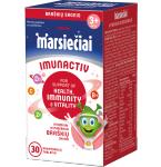 Marsiečiai IMUNACTIV braškių skonio kramtomosios tabletės N30