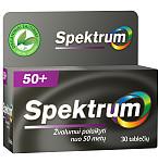 Maisto papildas Spektrum 50+ dengtos tabletės N30