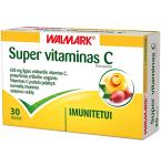 Maisto papildas Super Vitaminas C 600mg tabletės N30
