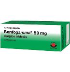 Benfogamma 50mg dengtos tabletės N50