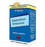 Diabetiker - vitamine tabletės N30
