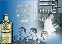 Vaistinių preparatų gamyba Kaune 1920 –1940 m.