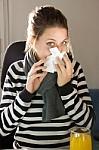 Sergamumas gripu ir peršalimo ligomis mažėja ketvirtą savaitę iš eilės