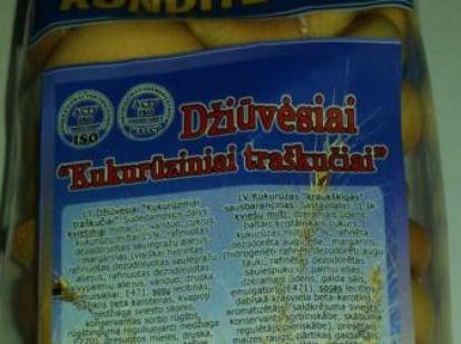 Konditerijos gaminiuose iš Ukrainos – nedeklaruoti GMO